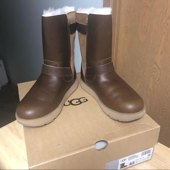 096b99cd65b UGG Australia Breida Waterproof Chestnut Boots NWT